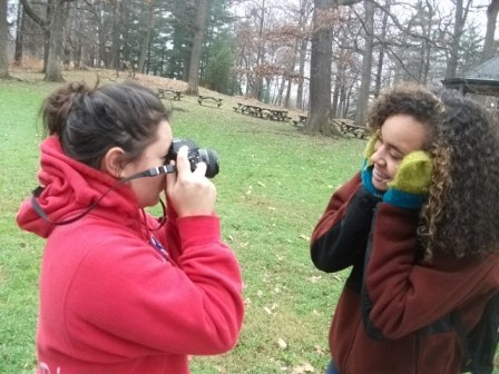 Photography Class Visit to Depew