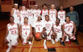 Boys' Basketball Team in Patch