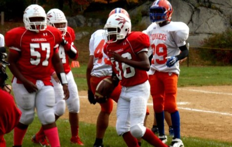 Red Devils Football Team Scores Against Yonkers