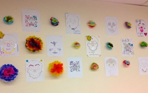 PHS Spanish Classes Honor the Dead on El Dia de Los Muertos