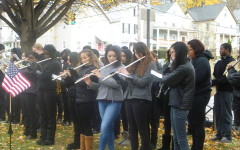 PHS Band Plays For Veterans