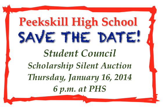 PHS Student Council Scholarship Auction