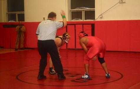 PHS Red Devil Wrestlers Perform in Peekskill