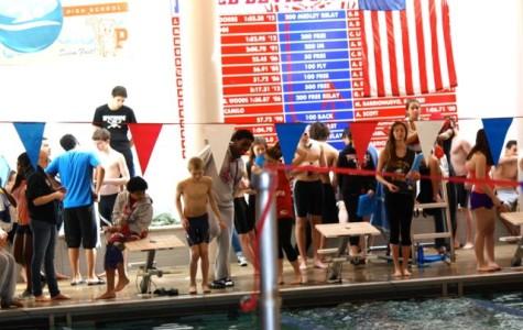 Peekskill Hosts Boys Swimming Divisional Meet 2/1/14