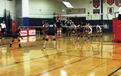 PHS Girls Volleyball falls to Ossining