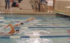 Girls Varsity Swim Team Meet at Divisionals