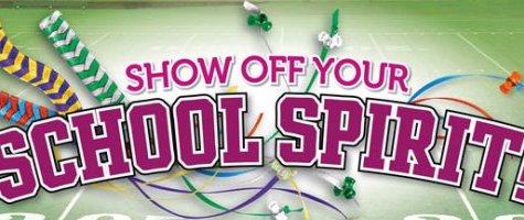 Got Spirit? School Spirit Week Schedule