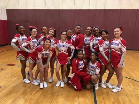 PHS Varsity Cheerleaders Return to Competitions After 15 Year
