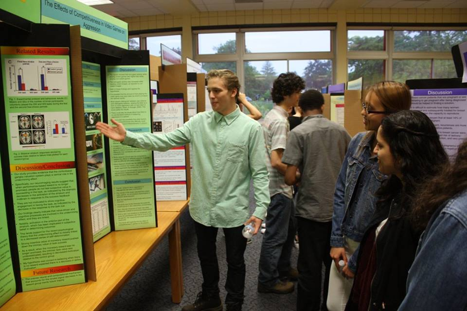 PHS Holds Annual Science Research Symposium
