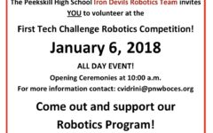 FTC Robotics Challenge Coming to Peekskill High School THIS Weekend!