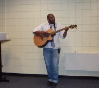Slam Poet Performance