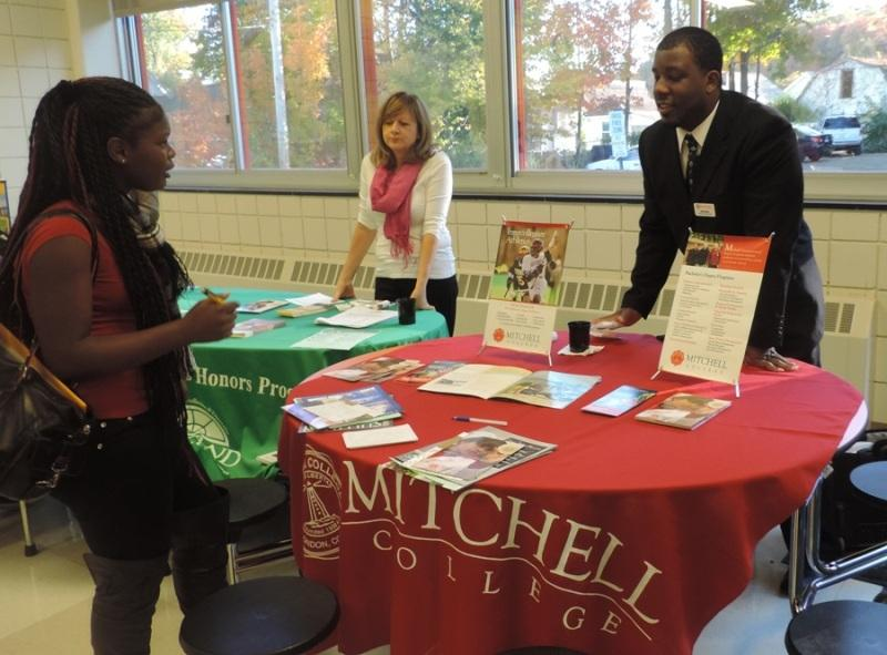 Students Explore Future Opportunities at Mini-College Fair