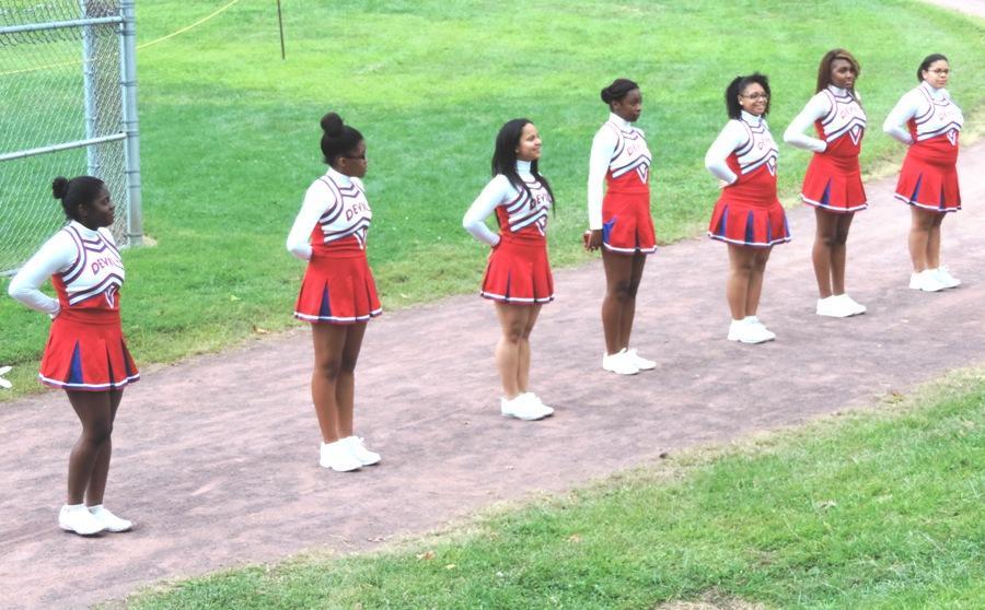 Cheerleaders Build School Spirit