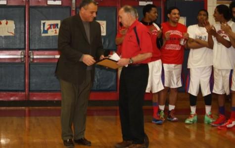 February 7 was Coach Lou Panzanaro Day in Peekskill, New York