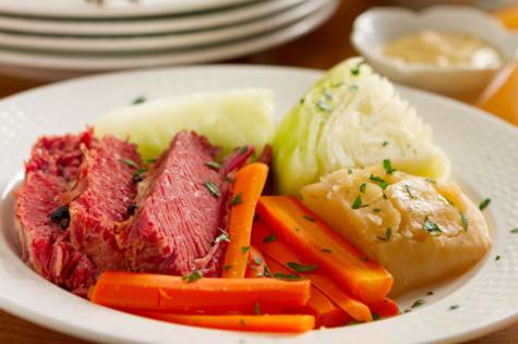 A St. Patricks Day Meal: Classic Corned Beef & Cabbage