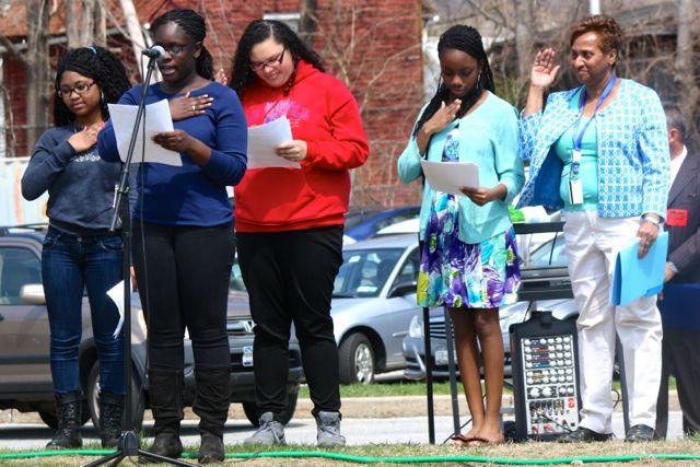 Arbor Day Celebrated on PHS Parade Ground