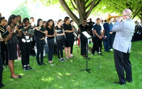 PHS Band Plays for Memorial Day Ceremony