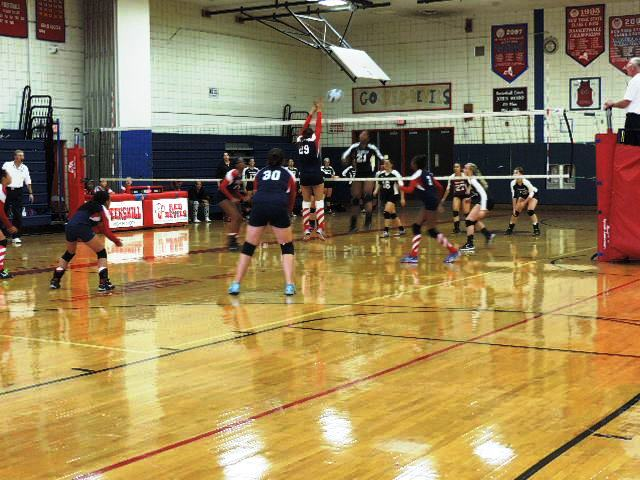 PHS Girls Volleyball falls to Ossining