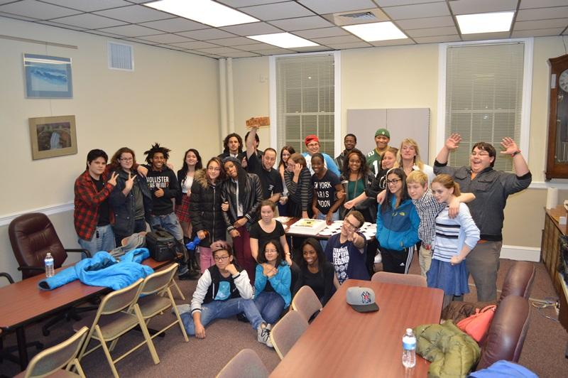 Drama Club Honored at Board of Education Meeting
