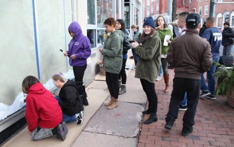 Peekskill Students Decorate Downtown Windows with Winter Themes