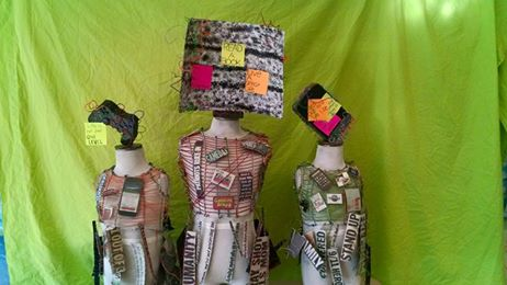 """Wired Within Society"" – Socially Inspired Student Art Displayed at Garrison Art Center"