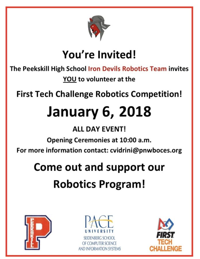 FTC+Robotics+Challenge+Coming+to+Peekskill+High+School+THIS+Weekend%21