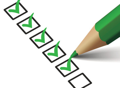 Checklist With Green Checkmark Icon