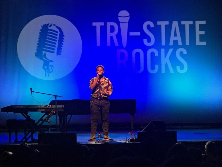 Sophomore Chris Smith Wins 3rd Place in Tri-State Rocks Show