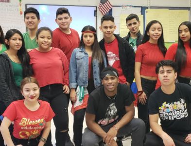 ESL Students Make a Mark on Spirit Week