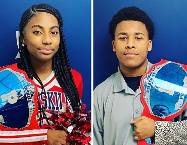 "PHS' Jewel Travis & Tylell Linen Named PCSD ""Athletes of the Month!"""